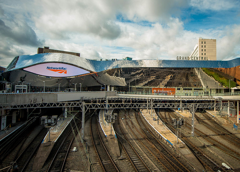A view of Birmingham New Street Station